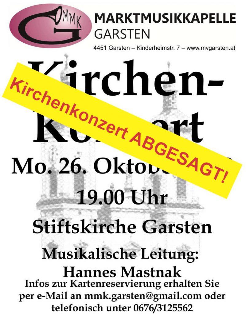 Kirchenkonzert Abgesagt!