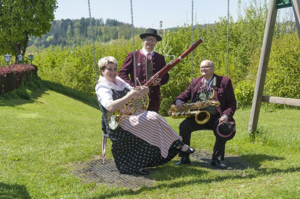 Fagott Horn Saxophon