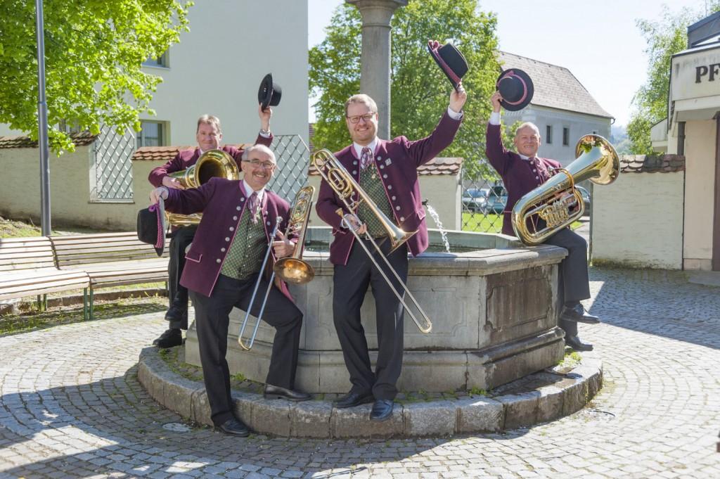Posaune und Tuba