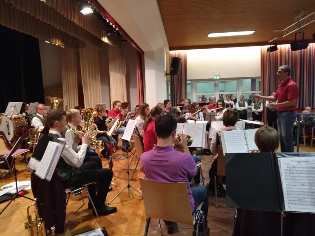 Jugendorchester beim Wunschkonzert 2017